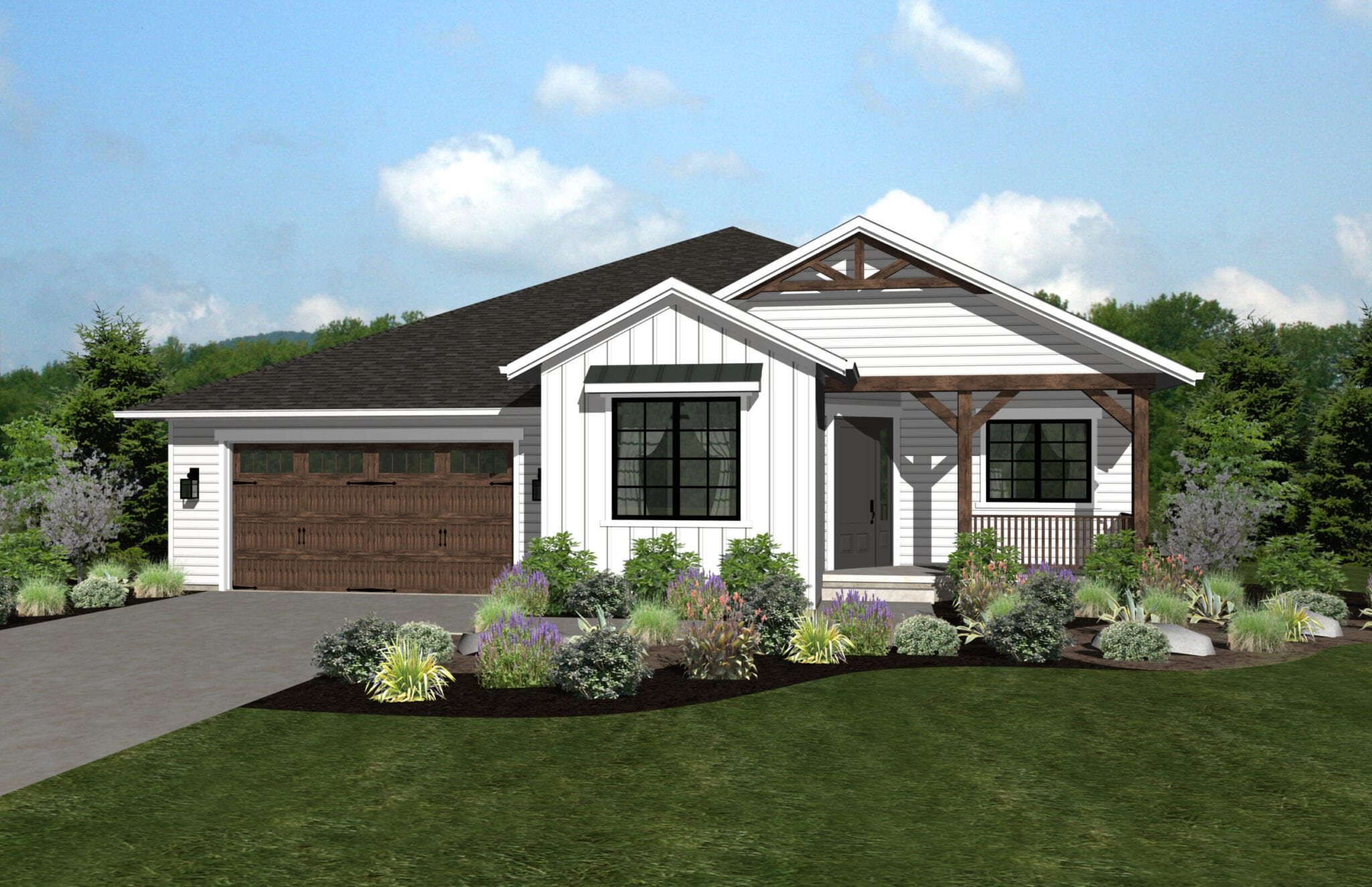 FRONT RENDERING-3708 Crown Hill