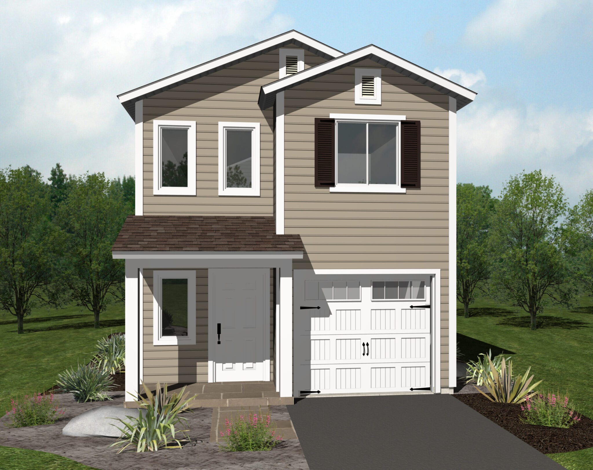 FRONT RENDERING-1609 California Ave